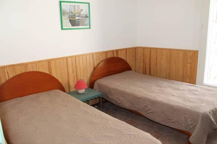 Appartement Porto-Vecchio vue mer chambre twin