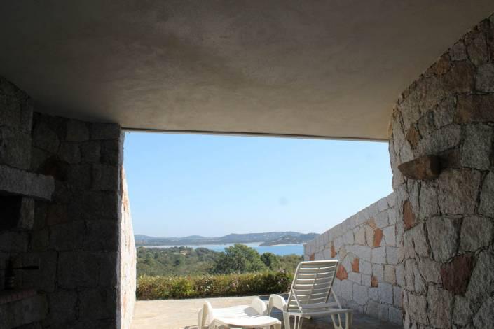 Location studio Porto-Vecchio Vue mer terrasse