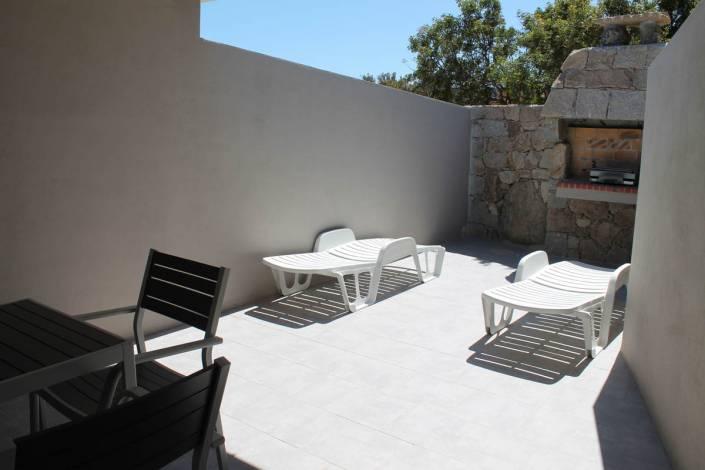 Location appartement Porto-Vecchio terrasse barbecue